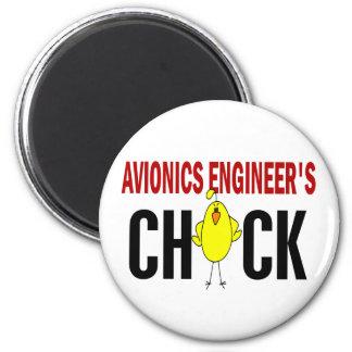 El polluelo del ingeniero de la aviónica iman para frigorífico