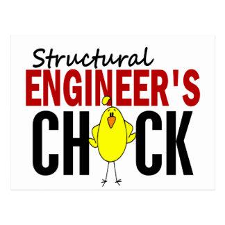 El polluelo del ingeniero estructural postal
