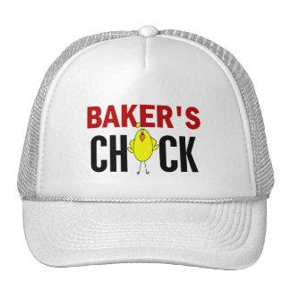 El polluelo del panadero gorras