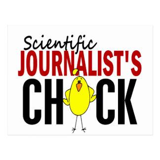 El polluelo del periodista científico postal