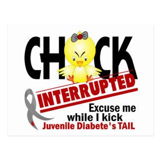 El polluelo interrumpió la diabetes juvenil 2 postal