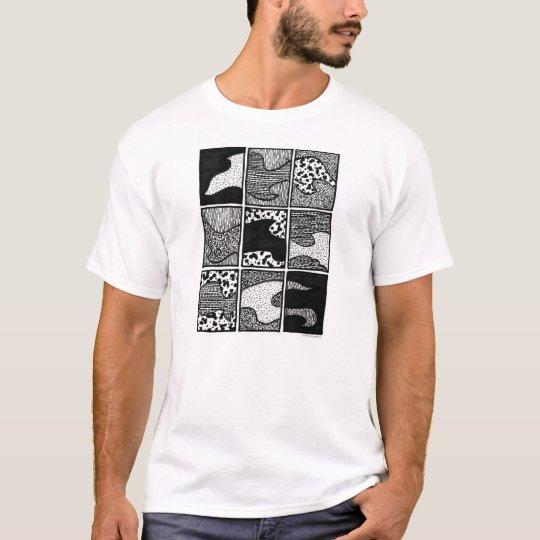 """El """"polvo asalta"""" la camiseta de los hombres"""