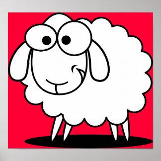 El poster barato de las ovejas