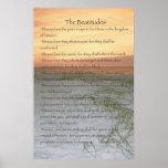 El poster de las beatitudes (vertical)