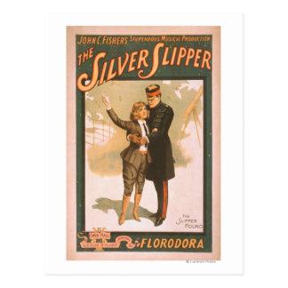 El poster de plata #1 del teatro musical del tarjetas postales