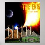 El poster maya del calendario del extremo