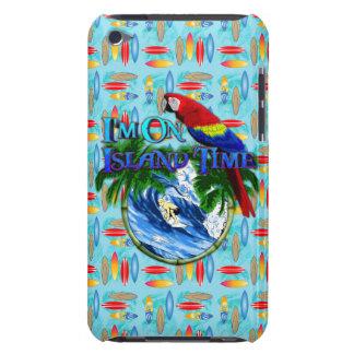 El practicar surf del tiempo de la isla barely there iPod funda