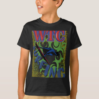 el practicar surf tribal camiseta