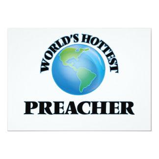 El predicador más caliente del mundo invitación 12,7 x 17,8 cm