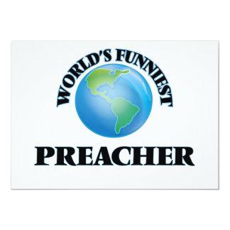 El predicador más divertido del mundo invitación 12,7 x 17,8 cm