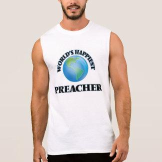 El predicador más feliz del mundo camisetas sin mangas