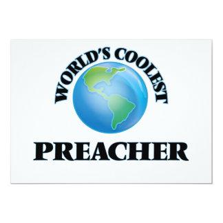 El predicador más fresco del mundo invitación 12,7 x 17,8 cm
