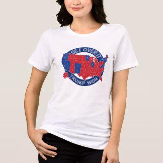 El presidente electo triunfo ganó la camiseta azul