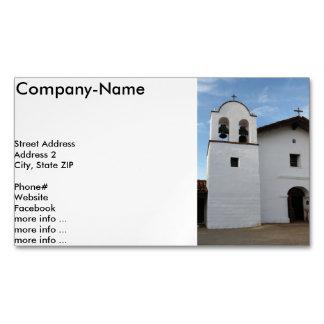 EL Presidio de Santa Barbara Tarjetas De Visita Magnéticas (paquete De 25)