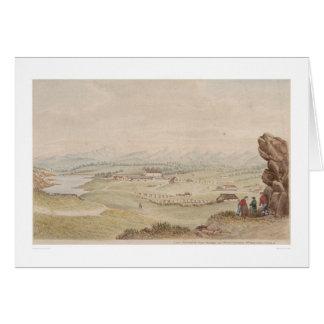 El Presidio y el pueblo de Monterey (1104) Tarjeta De Felicitación