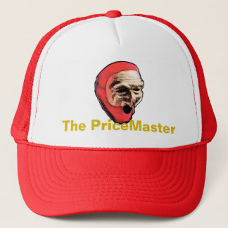 El PriceMaster, gorra del logotipo con nombre