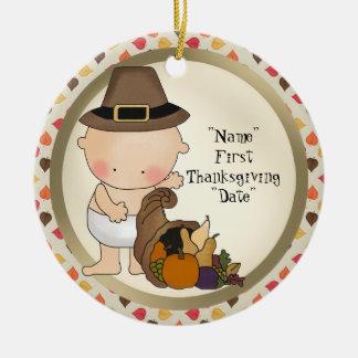 El primer Día de Acción de Gracias añade el orname Ornamentos De Reyes