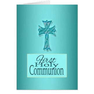El primer verso de la comunión PERSONALIZA Tarjetón