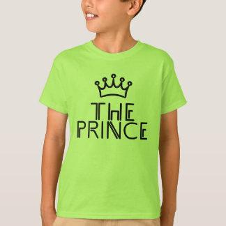 EL PRÍNCIPE con la corona - camiseta a juego