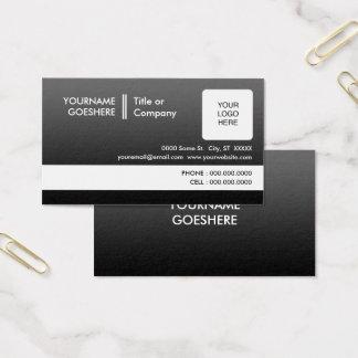 el profesional se descolora 2 echados a un lado tarjeta de visita