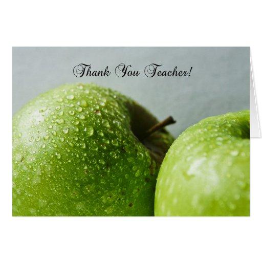 el profesor le agradece tarjeta de felicitación