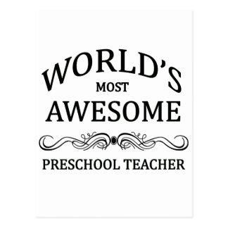 El profesor preescolar más impresionante del mundo postales