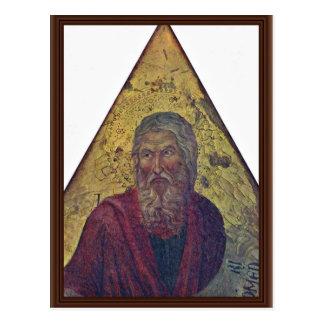 El profeta Isaías por los Di de Nerio Ugolino Postal