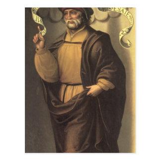 El profeta Isaías Postal