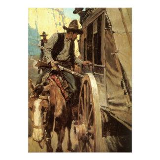El proscrito admirable por NC Wyeth, vaqueros del  Comunicados Personalizados