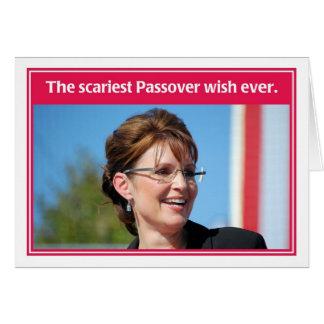 El próximo año en tarjeta divertida del Passover