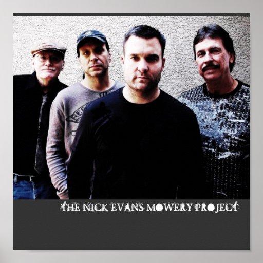 EL PROYECTO DE NICK EVANS MOWERY POSTER