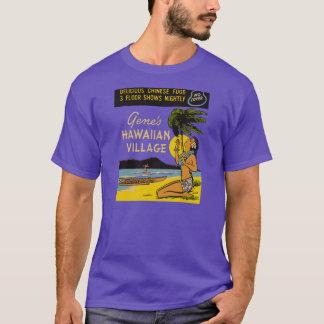 El pueblo hawaiano del gen camiseta