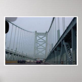El puente de Ben Franklin Póster