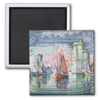 El puerto en La Rochelle, 1921 Iman De Frigorífico