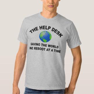 El puesto de informaciones - ahorro del mundo camisetas
