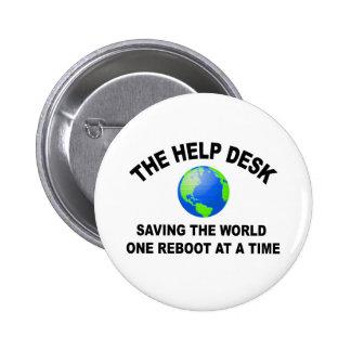 El puesto de informaciones - ahorro del mundo pin