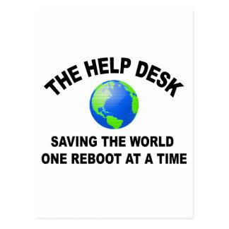 El puesto de informaciones - ahorro del mundo postal