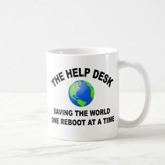 El puesto de informaciones - ahorro del mundo taza