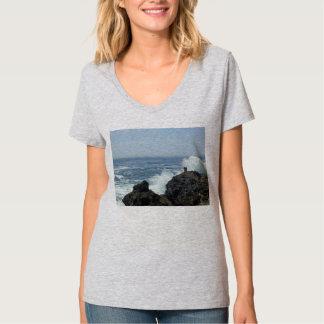 El punto Lobos agita estrellarse cerca de pares en Camisetas