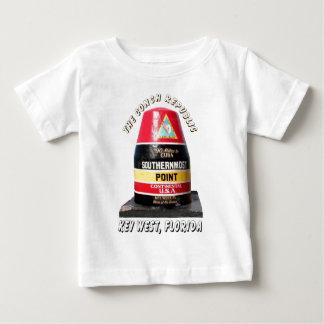 El punto más situado más al sur camiseta para bebé