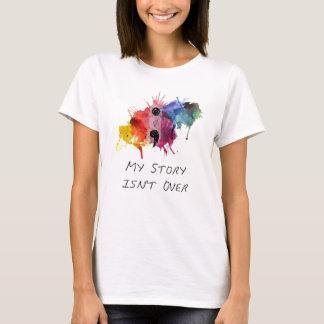 El punto y coma mi historia no ha terminado camiseta