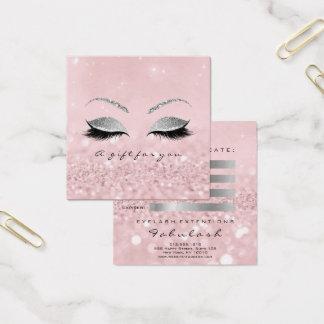 El purpurina de la plata del vale azota maquillaje