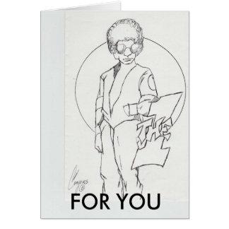 El que está para la tarjeta del Usted-saludo para
