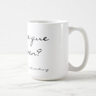 el que le del Qu'est-ce buppen la taza