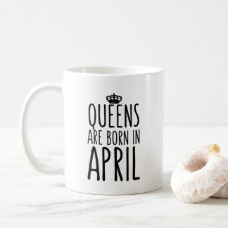 El Queens es en abril taza de café nacida