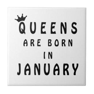 El Queens nace en enero Azulejo De Cerámica