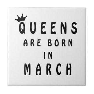 El Queens nace en marzo Azulejo De Cerámica