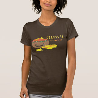 ¡El queso es genocidio!!! Camisetas