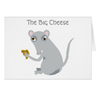 El queso grande tarjeta