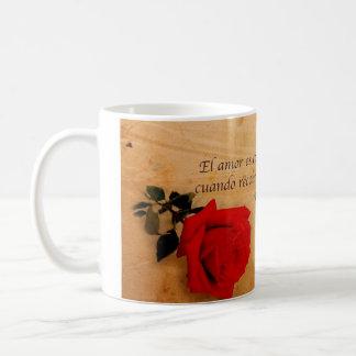 EL Quijote del como del EL Amor es Tazas De Café